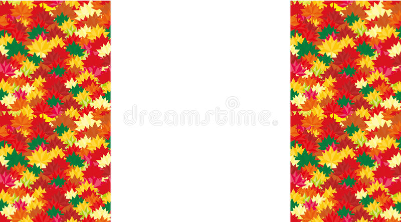 Fall pattern for your Banners, Wallpapers, Mailing, Design,Sale, Cards Autumn background rectangular orientation with a place for. Fall pattern for your Banners vector illustration
