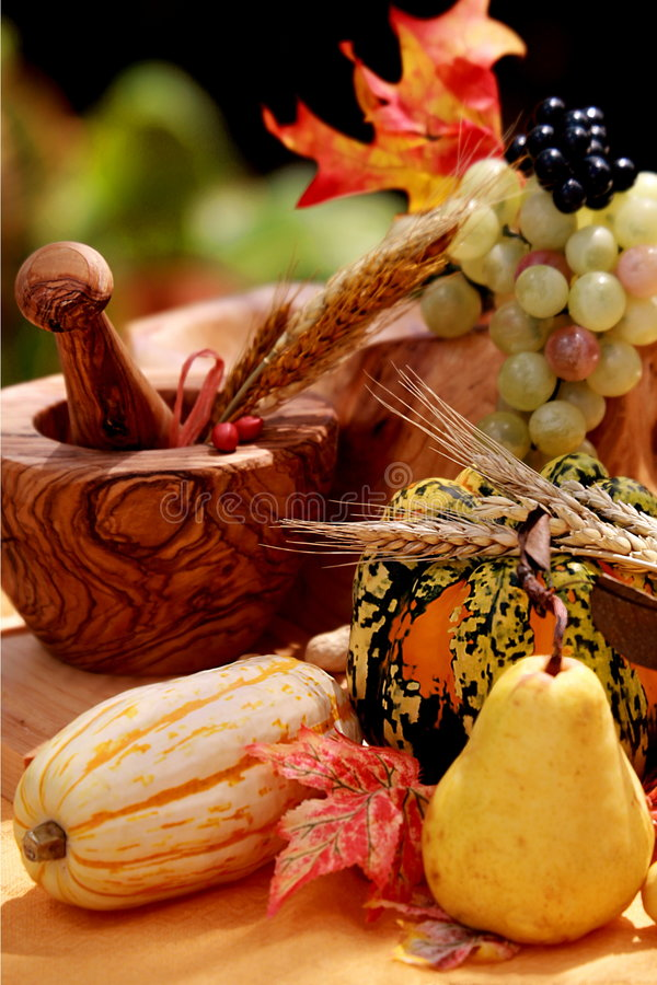 Download Fall pears and pumpkins stock photo. Image of harvest - 6476822