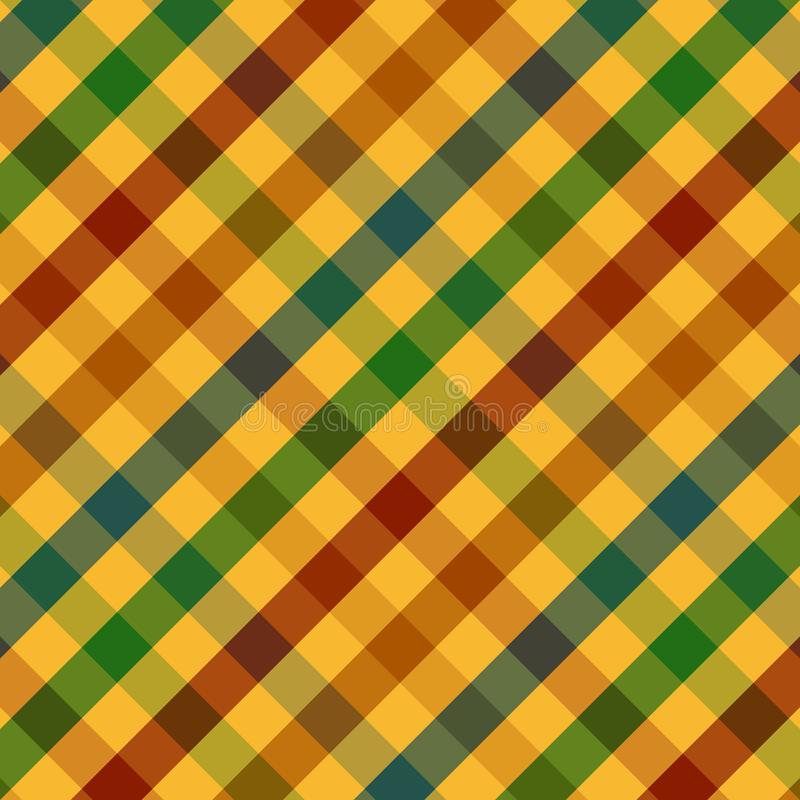 Download Fall Plaid Pattern stock illustration. Illustration of blue - 6600403