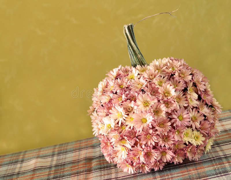 Download Fall Pumpkin With Mums Stock Photography - Image: 3282762