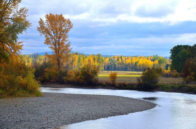 Fall River стоковая фотография