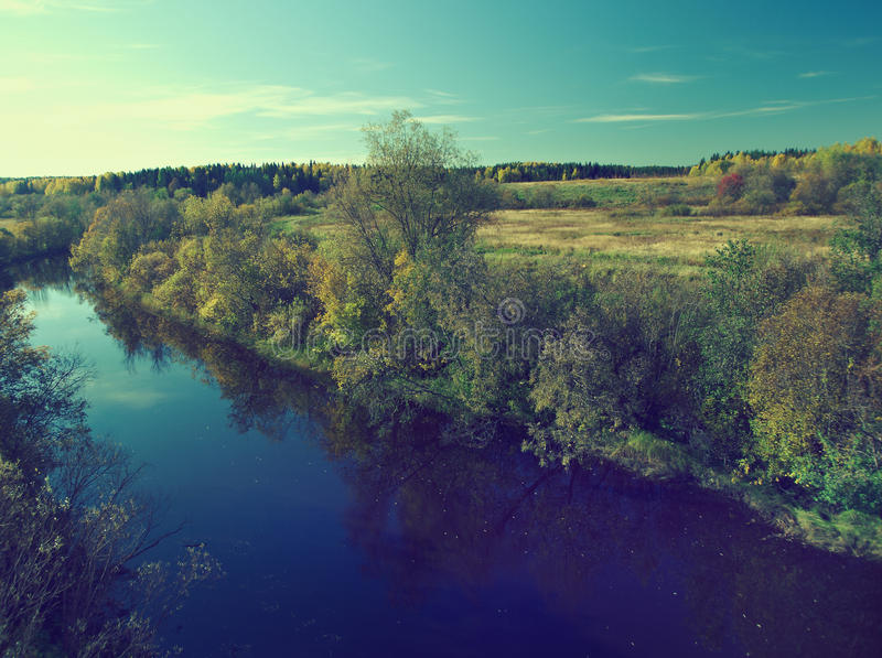 Fall River arkivfoton