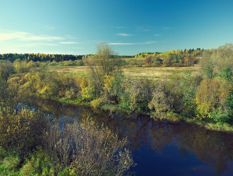 Fall River arkivfoto