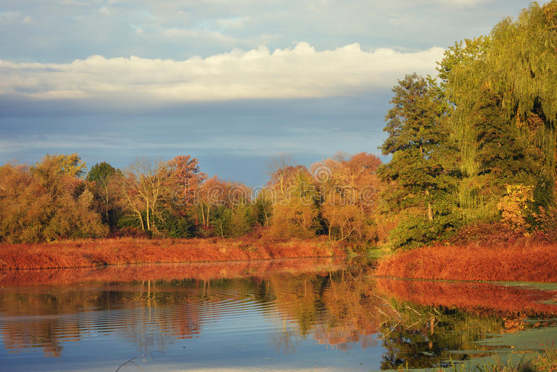 Fall River стоковые изображения rf