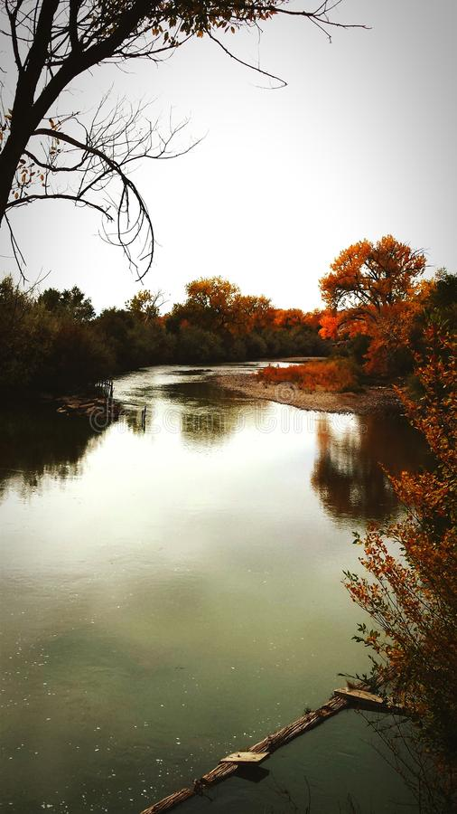 Fall River arkivbild