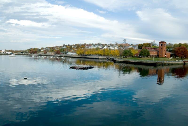 Fall River Massachusetts arkivbild