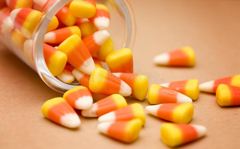 Fall-Süßigkeits-Mais stockfoto