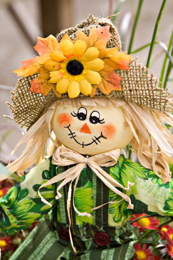 Free Fall Scarecrow Decoration Royalty Free Stock Photo - 6702585