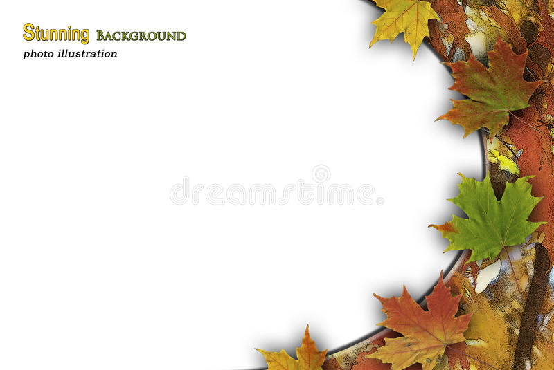 Fall Smathering royalty free stock photography