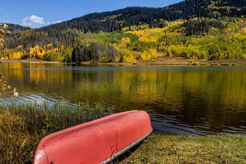 Fall in Steamboat Springs Colorado lizenzfreie stockfotos