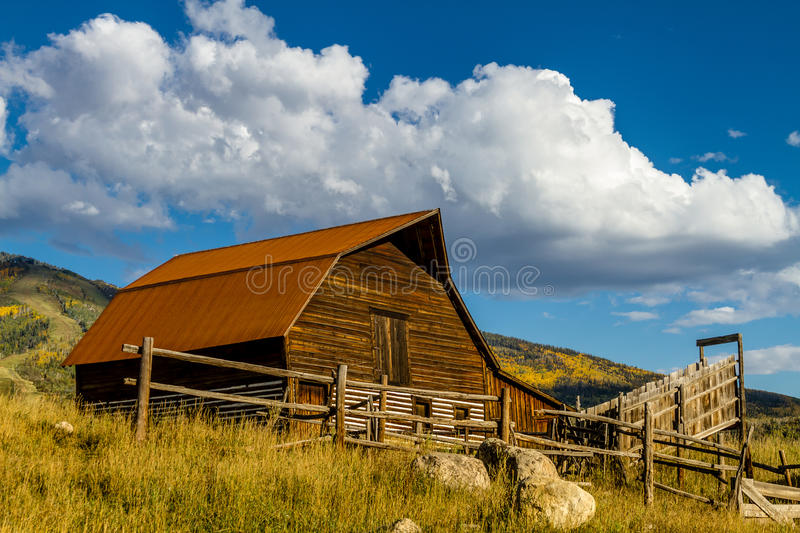 Fall in Steamboat Springs Colorado royalty free stock photography