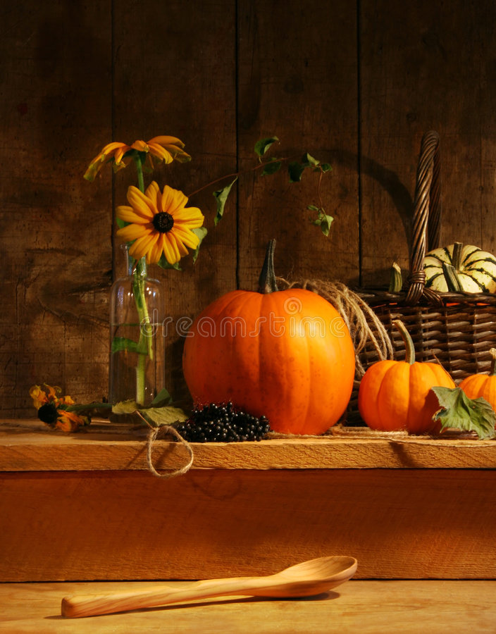 Fall still life stock images