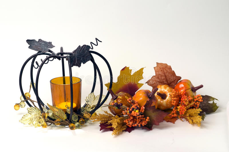 Fall Table Top Stock Photography