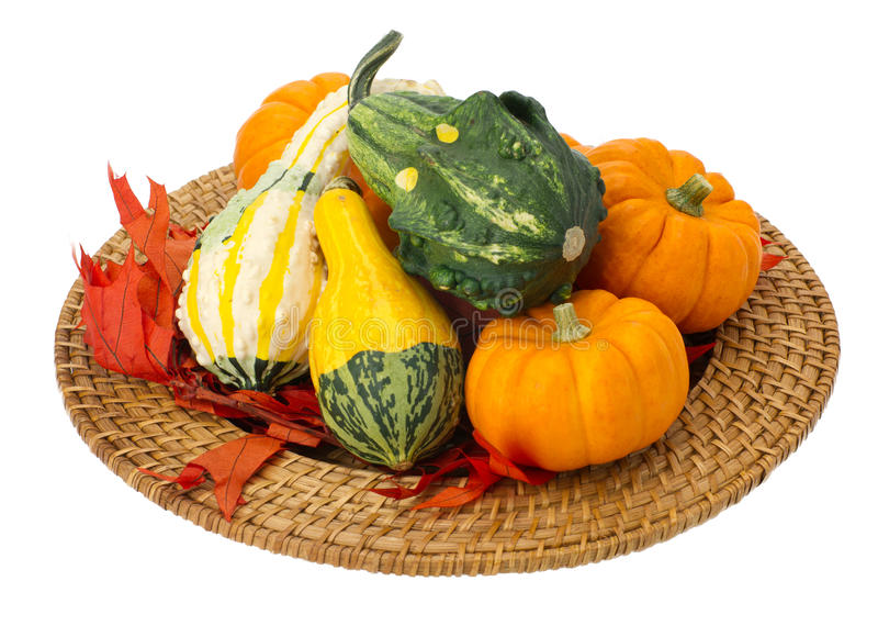 Download Fall Thanksgiving Halloecoration Isolated On White Stock Image - Image of harvest, holiday: 21203273