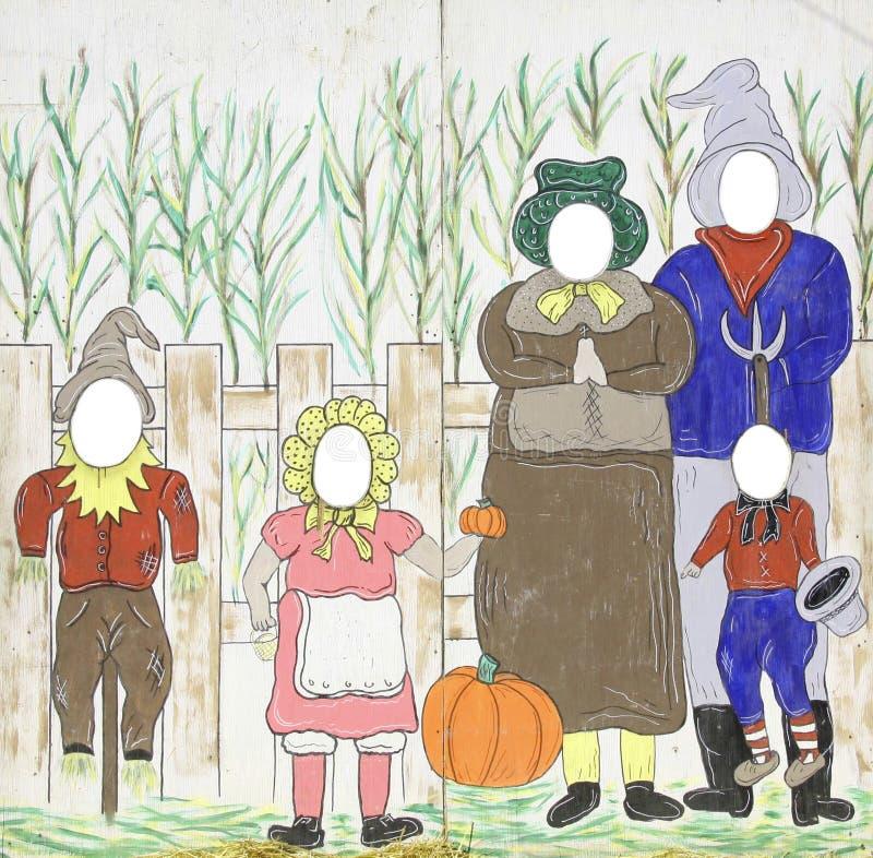 Fall Theme Funny Face Frames Stock Illustration - Illustration of ...