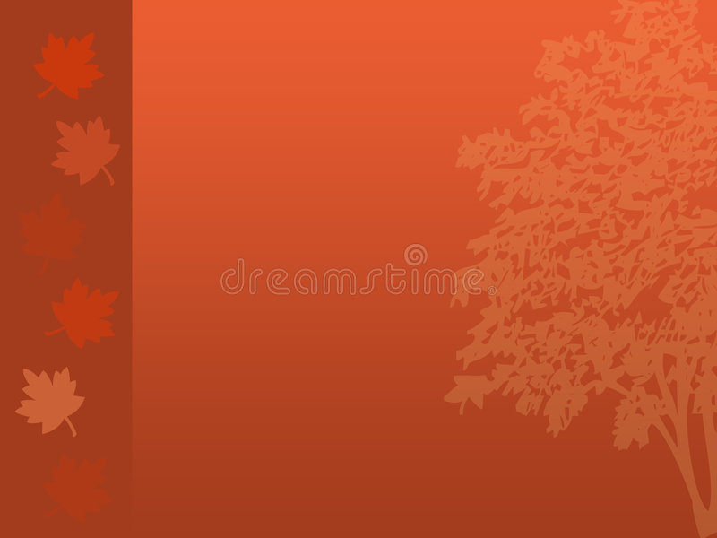 Fall Tree Background stock image