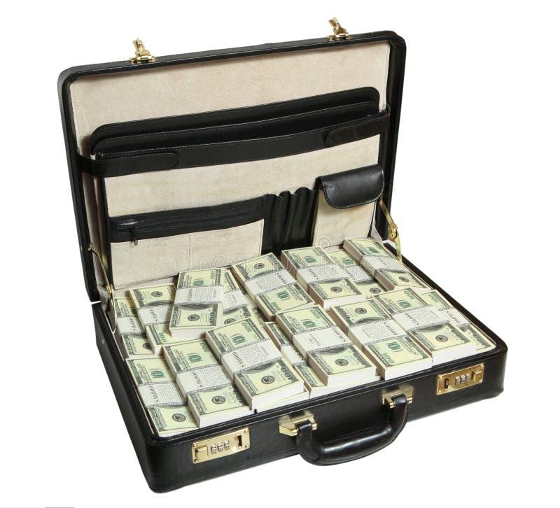 Fall voll des Dollars stockfotos