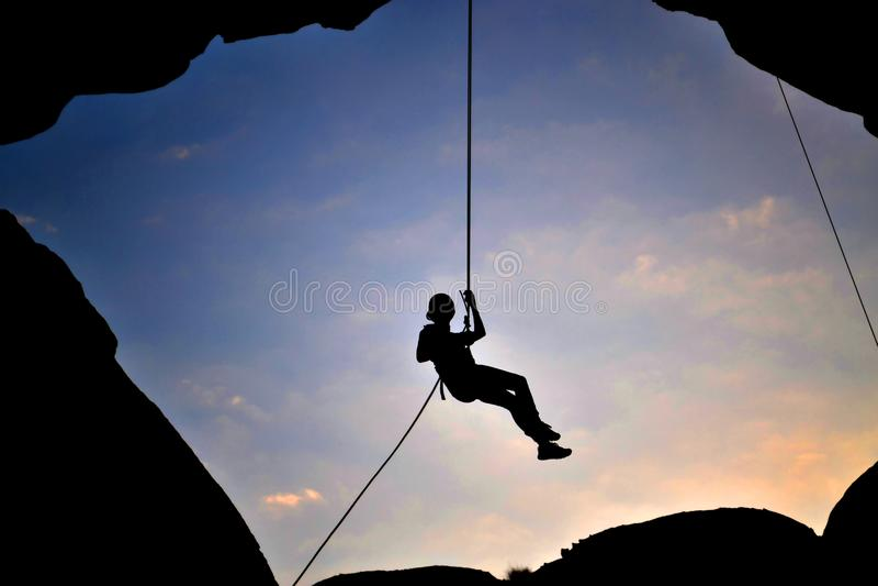 Falla vid repet fotografering för bildbyråer