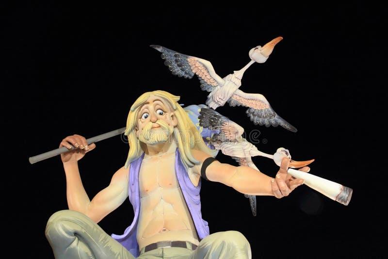 Download Fallas Valencia Papier Mache Popular Fest Figures Editorial Photography - Image: 20987367