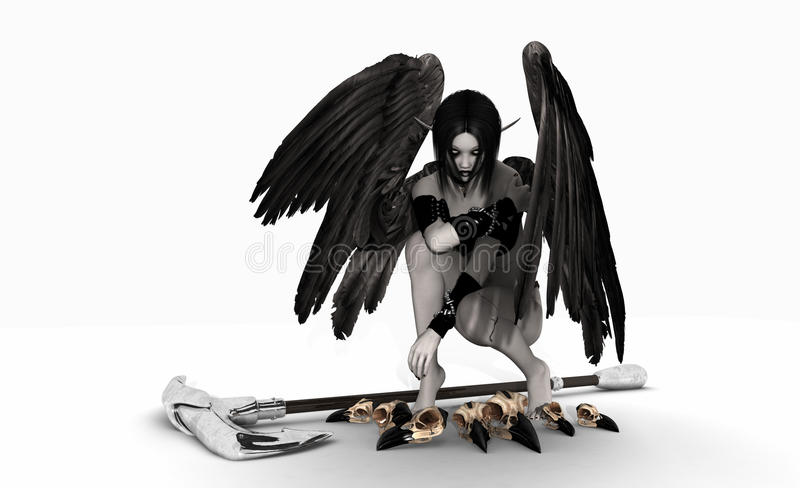 Download Fallen Angel Stock Photography - Image: 14469682
