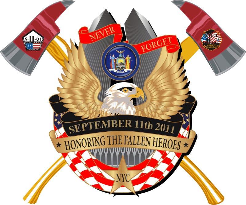 Fallen Heroes 911 Memorial Decal Editorial Image