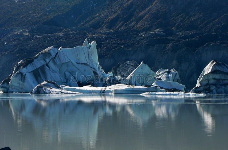 Download Fallen Iceberg On Tasman Glacier Lake, New Zealand Royalty Free Stock Photography - Image: 15746497
