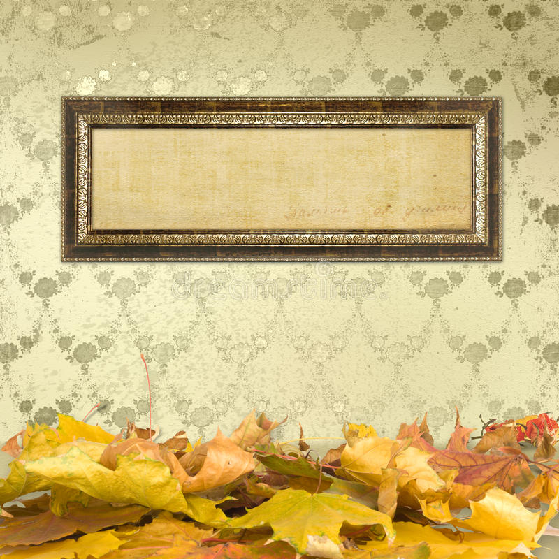 Download The Fallen Leaves On The Floor Stock Illustration - Image: 21840328