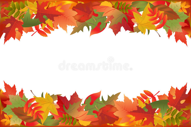Download Fallen Leaves. Vector stock vector. Image of white, wallpaper - 16935658