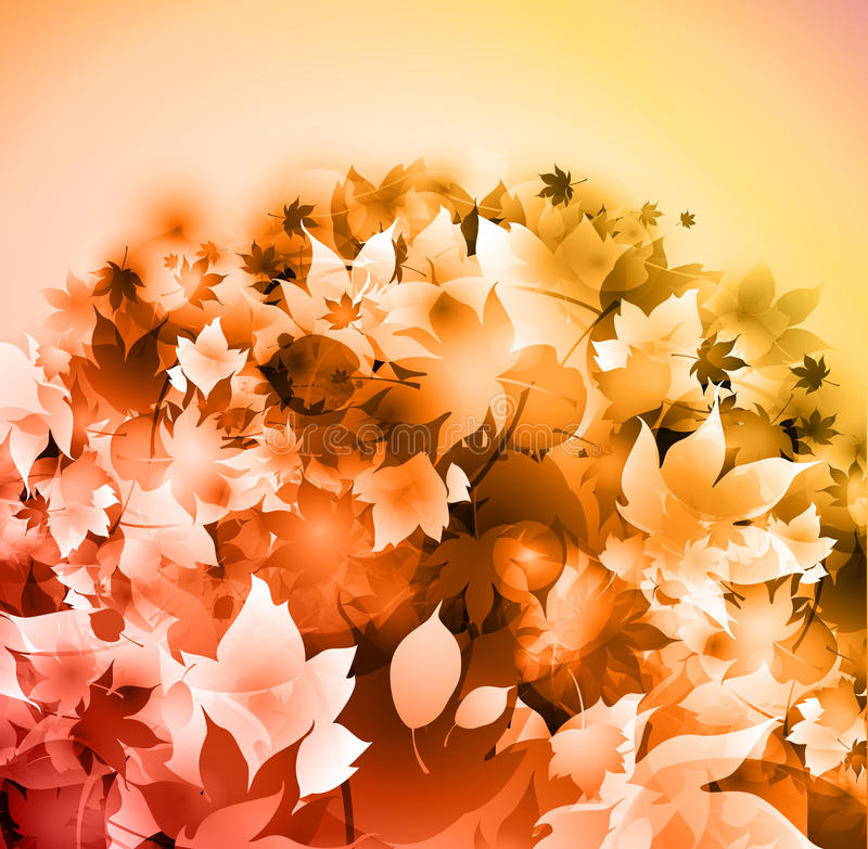 Download Fallen Leaves Yellow Background Stock Photography - Image: 16017302