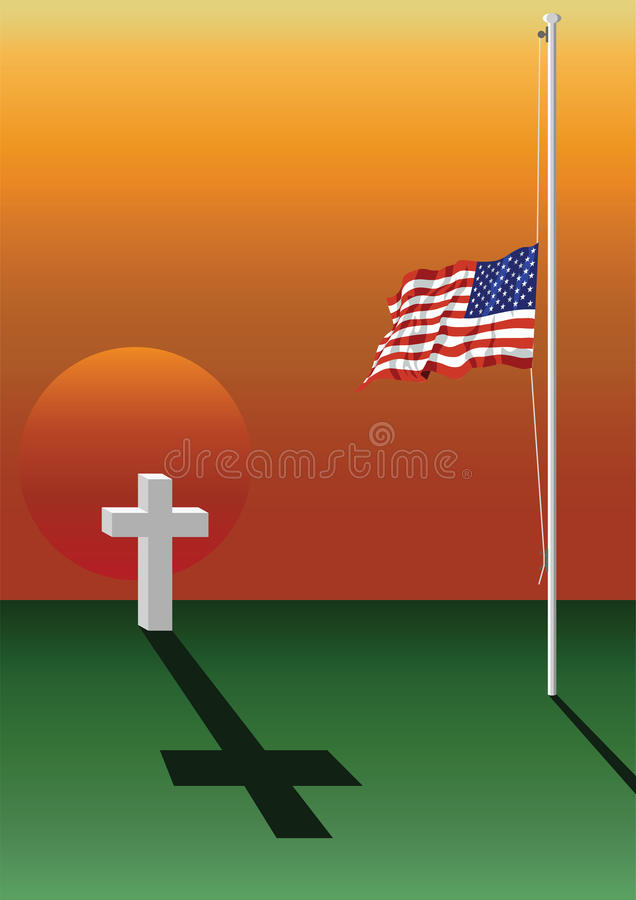 Free Fallen Soldier Grave Stock Image - 12979931