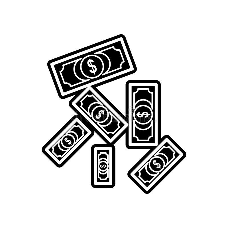 fallende Haushaltplanikone Element des Kasinos f?r bewegliches Konzept und Netz Appsikone Glyph, flache Ikone f?r Websiteentwurf  vektor abbildung