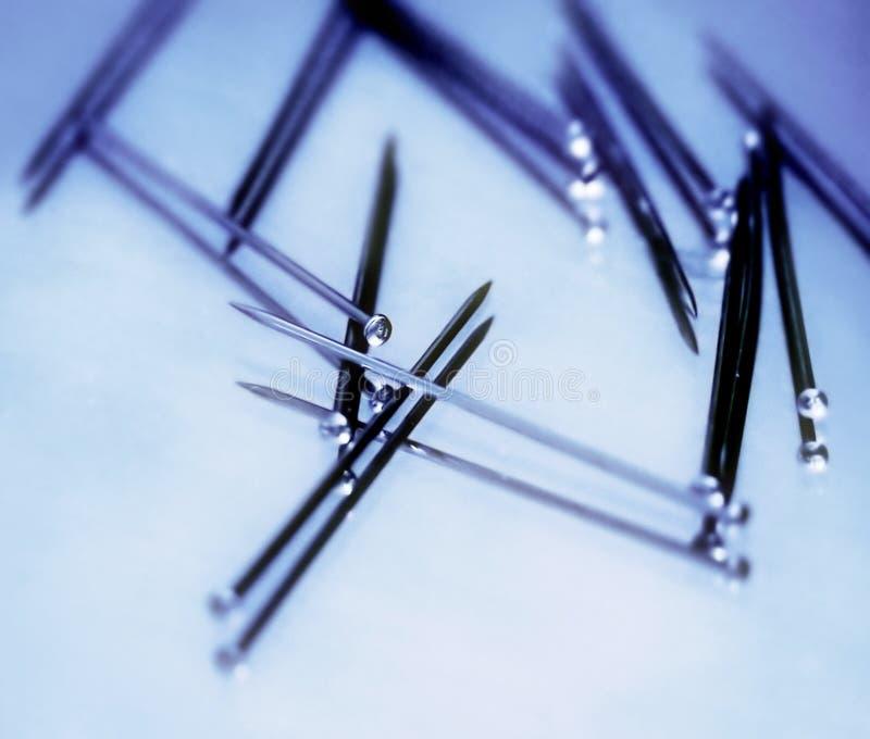 Fallende Stifte