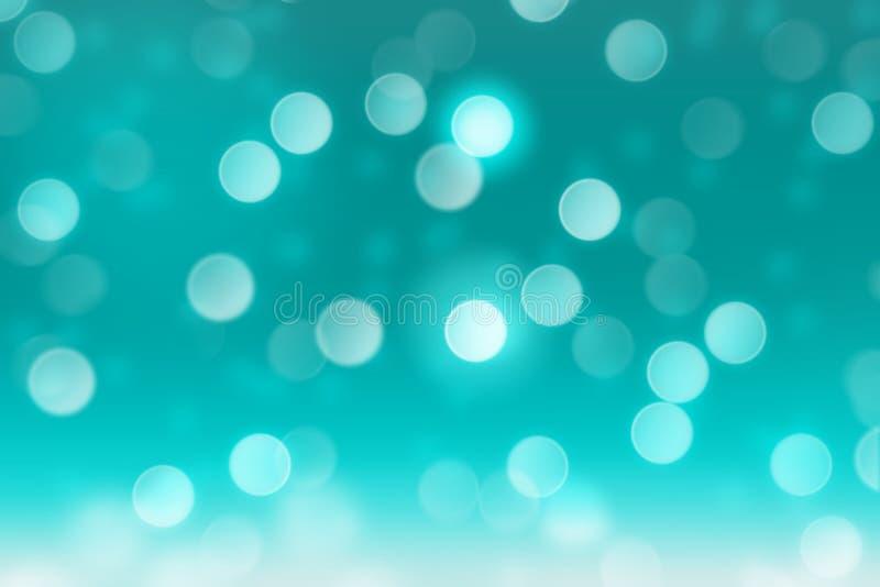 Fallender Schnee auf Knickentenhintergrund mit unscharfem Kreis bokeh, extrahiert Hintergrund stockbild