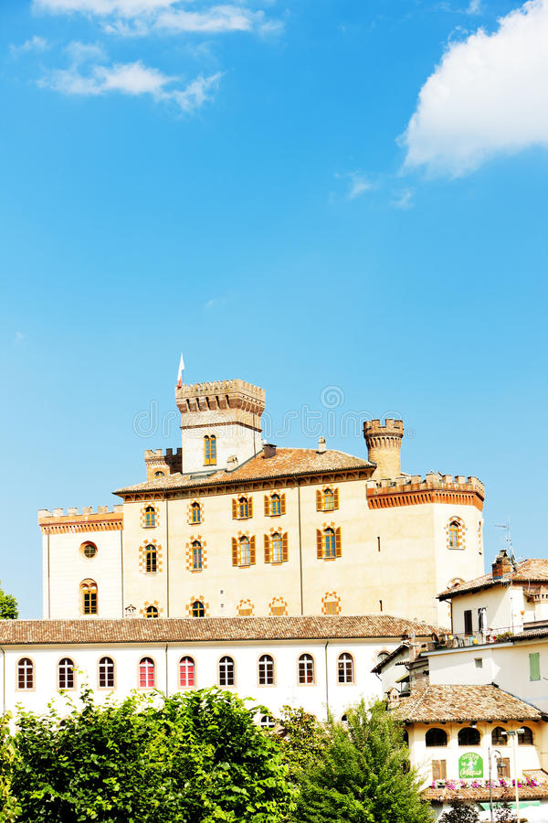 Download Falletti di Barolo Castle stock photo. Image of history - 27009504