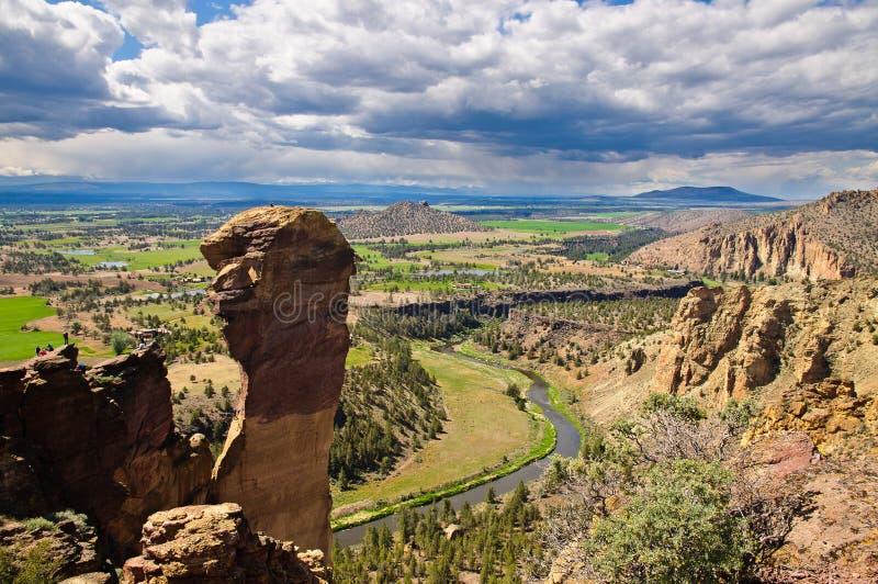 Fallhammer-Gesicht, Smith-Felsen-Nationalpark stockfotos