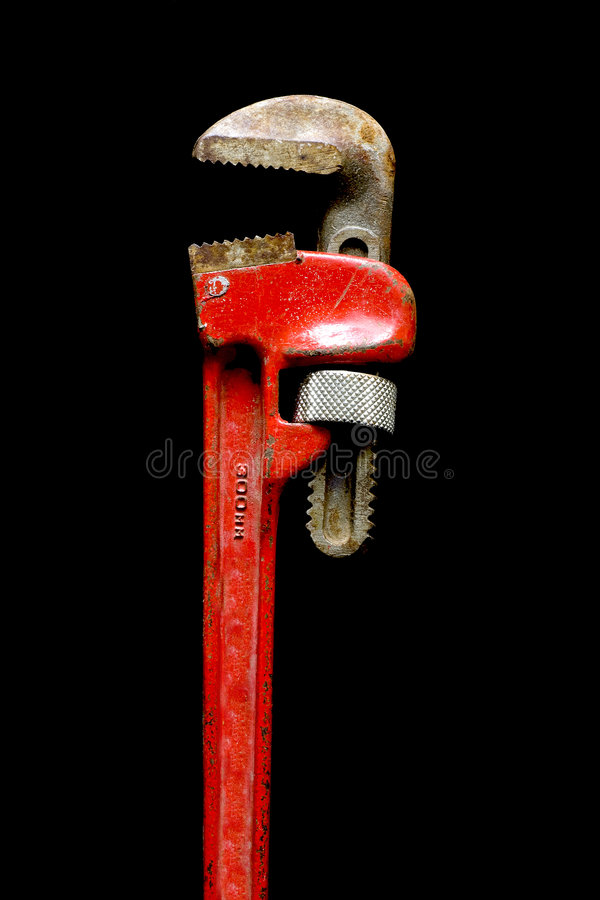 Fallhammer-Schlüssel lizenzfreies stockfoto