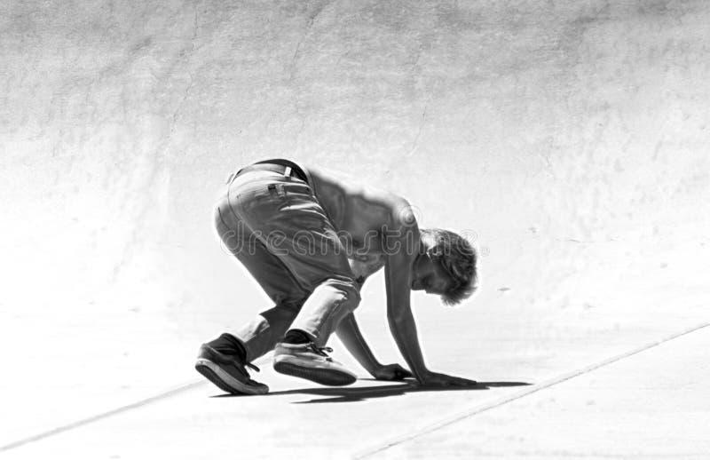 Falling Skateboarder stock photos