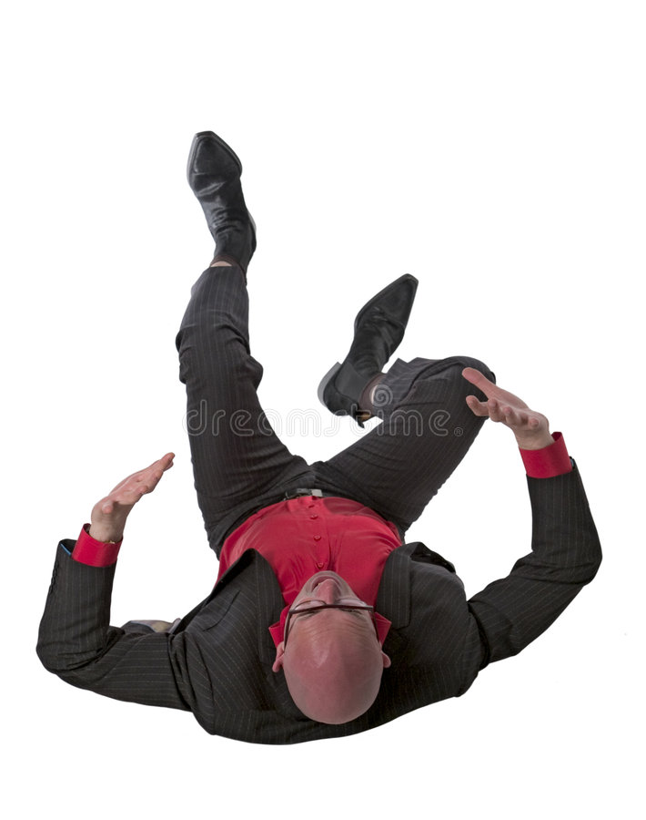 Download Falling business man stock photo. Image of tumble, looking - 2578084