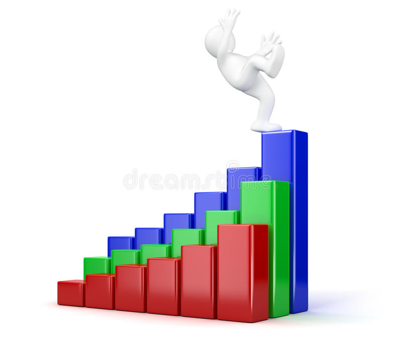 Download Falling Businessman Stock Photo - Image: 33862830
