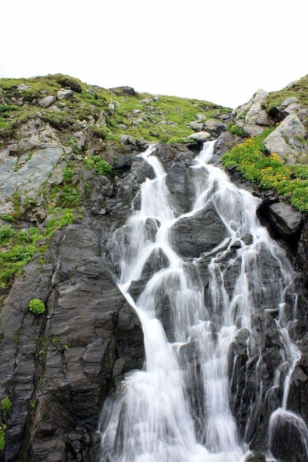 Falling cascade stock photography