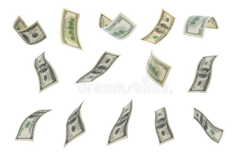 Falling Dollar. Royalty Free Stock Photography
