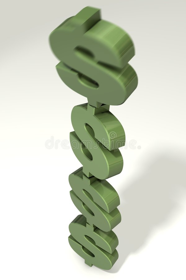 Download Falling Dollars Stock Photography - Image: 7997172