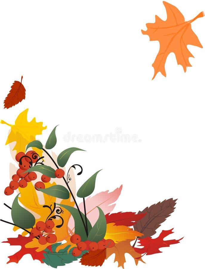Free Falling Leaf Illustration Royalty Free Stock Photo - 3313395
