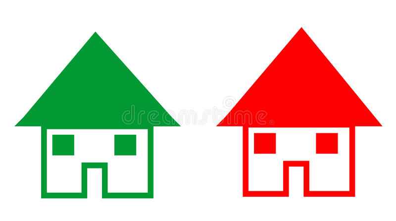 Download Falling And Rising House Prices Stock Illustration - Image: 10407233