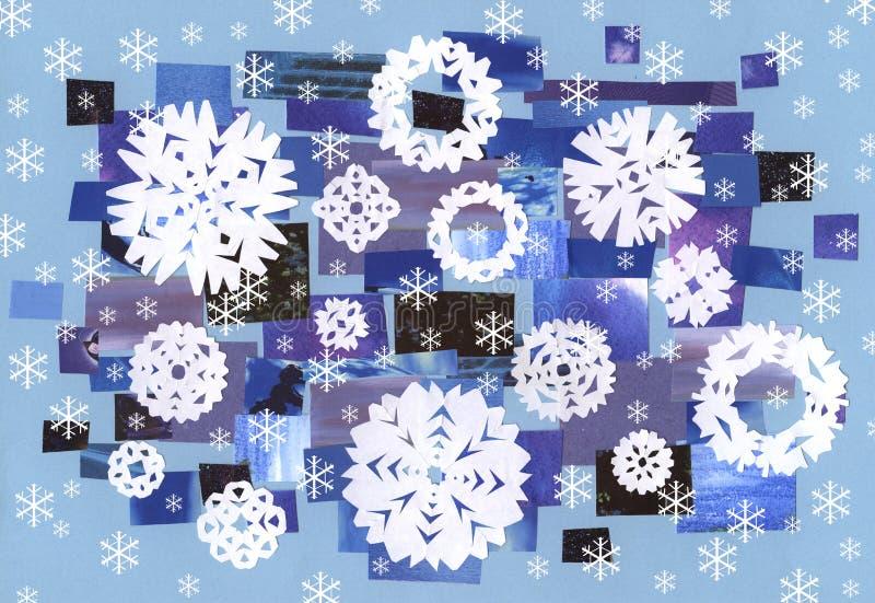 Download Falling snow - artwork stock vector. Image of falling - 5632086