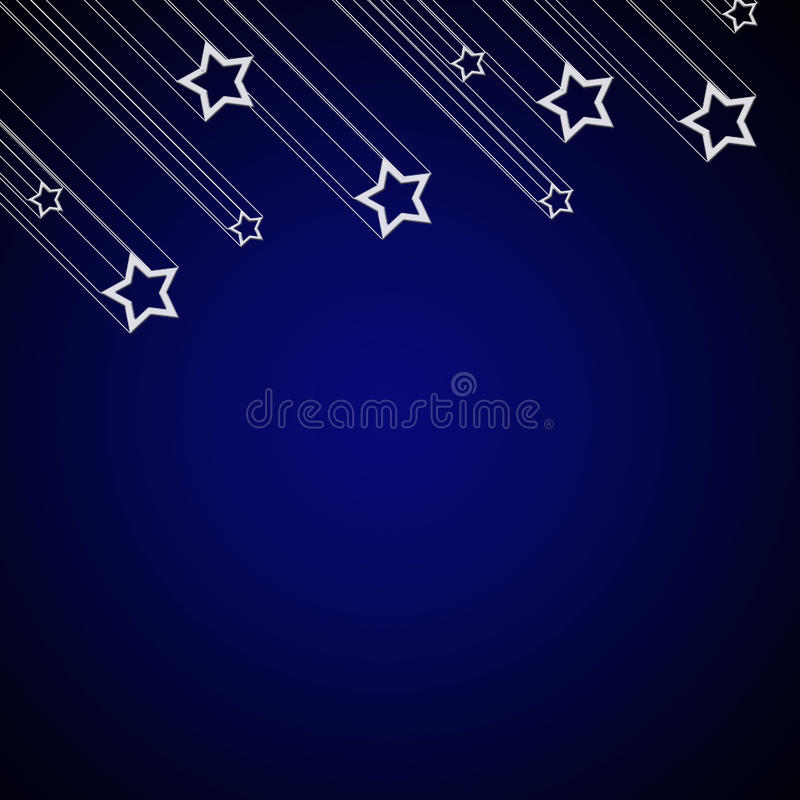 Download Falling star background stock illustration. Image of happy - 17166020