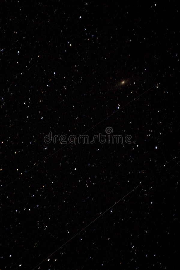 Download Falling Stars (Perseids) stock image. Image of starry - 6075343