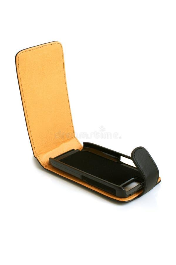 fallmobiltelefon royaltyfri foto