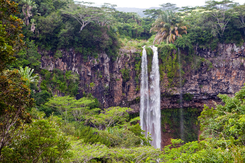 Falls in Africa stock photo