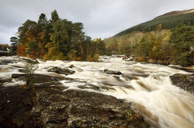 Falls of Dochart royalty free stock photos